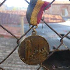 Medallas temáticas: MEDALLA CONMEMORATIVA DEL CAMPEONATO MUNDIAL DE COLOMBOFILA DE 1975 - MECHELEN. Lote 48741903