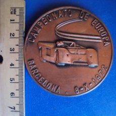 Medallas temáticas: (F-0109)MEDALLA CLUB 600 BARCELONA,CAMPEONATO DE EUROPA DE BARCELONA,8-X-1972. Lote 48752997