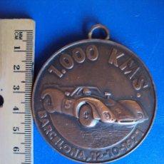 Medallas temáticas: (F-0110)MEDALLA CLUB 600 BARCELONA,1.000 KMS.BARCELONA,12-10-1971. Lote 48753030