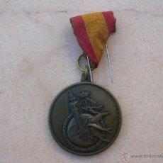 Medallas temáticas: MEDALLA CONMEMORATIVA DEL CAMPEONATO MUNDIAL DE COLOMBOFILA DE 1976 - VALENCIA. Lote 48868764