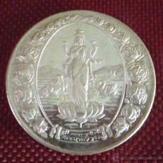 Medallas temáticas: MEDALLA DE PLATA SIMBOLOGÍA Y DEIDADES ASIÁTICAS. DIÁMETRO 37 MM. PESO 19,9 GRAMOS. Lote 49060778