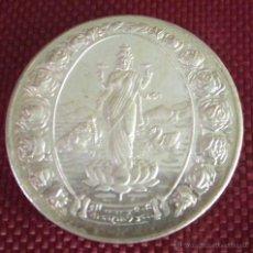 Medallas temáticas: MEDALLA DE PLATA SIMBOLOGÍA Y DEIDADES ASIÁTICAS. DIÁMETRO 37 MM. PESO 19,9 GRAMOS. Lote 49060789