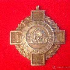 Medallas temáticas: MEDALLA PREMIO A LA APLICACIÓN. 4 CM.. Lote 49324997