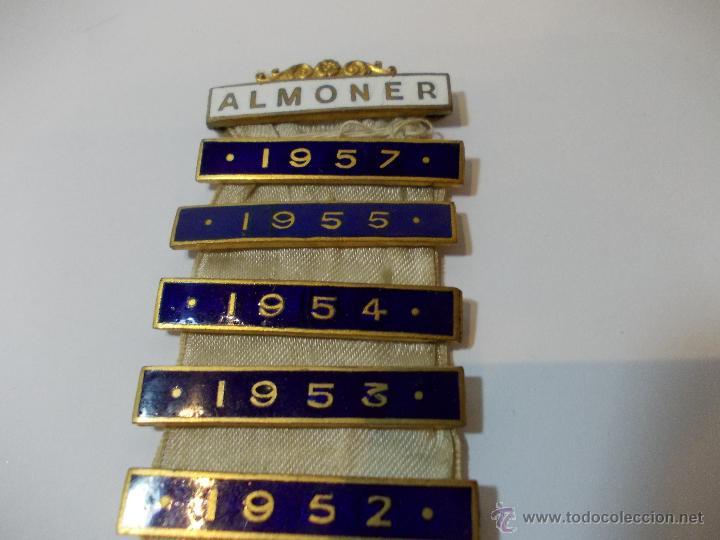 Medallas temáticas: ANTIGUA Y ESPECTACULAR MEDALLA MASONICA londres de oficial mason y años EN METAL DORADO ESMALTADO - Foto 3 - 49498015