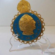 Medallas temáticas: ANTIGUO MEDALLON INSIGNIA MASONICO EN METAL ESMALTADO GOETHE Z 1906. Lote 49498498