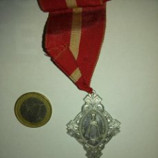 Medallas temáticas: NIÑO JESUS DE PRAGA Y VIRGEN DEL CARMEN - EXC. CONSERVACION. Lote 49612625