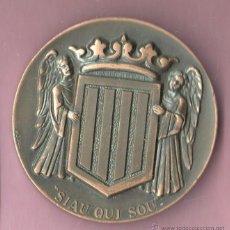 Medalhas temáticas: MEDALLA CATALANA - DEL CERCLE CATALA DE MADRID - EXPRESSIO D AGRAIMENT. Lote 49613380