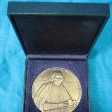 Medallas temáticas: MEDALLA CENTENARIO DE FRANCO PIQUER. CAJA DE AHORROS Y MONTE DE PIEDAD DE MADRID. D 8 CM. Lote 49702287