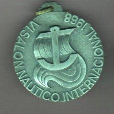 Medallas temáticas: VI SALON NAUTICO BARCELONA 1968 INTERNACIONAL. Lote 49747746