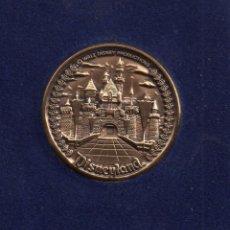 Medallas temáticas: BONITA MEDALLA DE MI VIAJE A WALT DISNEY PRODUCTION DIAMETRO 40 MILÍMETROS PESO 38 GRAMOS . Lote 49787069