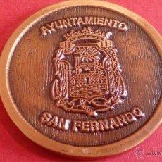 Medallas temáticas: MEDALLA AYUNTAMIENTO DE SAN FERNANDO. Lote 49856084