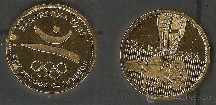 Medalla Juegos Olimpicos Barcelona 1992 Comprar Medallas Tematicas