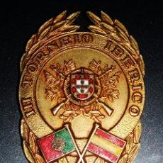 Medallas temáticas: MEDALLA DEL TERCER TORNEO IBERICO DE TIRO LISBOA AÑOS 60. Lote 50136172