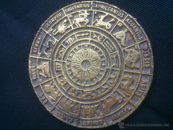 Medallas temáticas: MEDALLA SIGNOS ZODIACO.DIAMETRO;8CM. - Foto 2 - 50329333