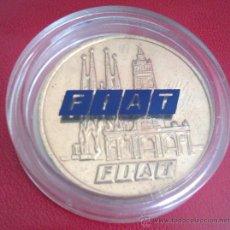 Medallas temáticas: MONEDA DE LA FIAT SERIE LIMITADA Y NUMERADA AÑO 1992 EN SU CAPSULA PROTECTORA. Lote 50335780