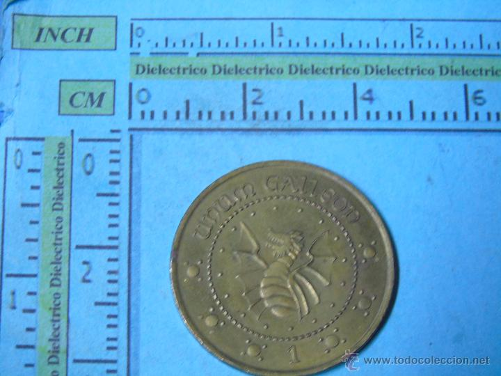 Medallas temáticas: MEDALLA MONEDA. GRINGOTTS BANK. 1 UNUM GALLEON. PELÍCULA HARRY POTTER. DIVISA - Foto 2 - 50343539