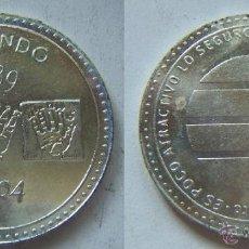 Medallas temáticas: MONEDA CONMEMORATIVA DE EL MUNDO 1989-2004 (EDITADA POR EL PERIODICO EL MUNDO. Lote 50400698