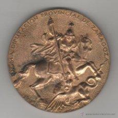 Medallas temáticas: MEDALLA EXCELENTISIMA DIPUTACION PROVINCIAL DE ZARAGOZA - SANT JORDI - BAILES REGIONALES JOTA. Lote 50472701