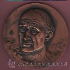 Medallas temáticas: INTERESANTE MEDALLA DEL FAMOSO ESCULTOR JOSEP CLARA I AXATS - OLOT 1878 - CENTENARI NAIXAMENT 1978. Lote 50733326