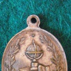 Medallas temáticas: MEDALLA ESCOLAR,METAL BLANCO, PP.S.XX. . Lote 50934715