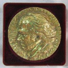 Medalhas temáticas: MEDALLA DE GOYA EN BRONCE HOMENAJE NACIONAL A LA MUJER 1996 ESTUCHE ORIGINAL. Lote 51033069