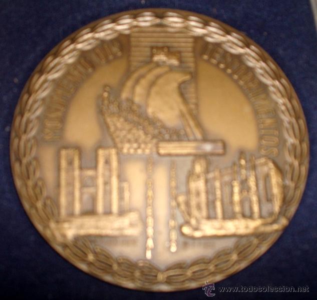 Medallas temáticas: MEDALLÓN EN METAL DE LA CIUDAD DE LISBOA PORTUGAL - Foto 5 - 51074046