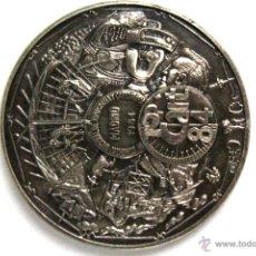 Medallas temáticas: CONGRESO NACIONAL DE TOPOGRAFIA Y CARTOGRAFIA. MADRID 1984. MEDALLA CONMEMORATIVA. . Lote 51224447