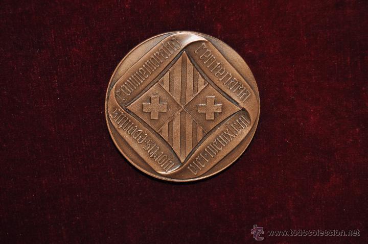 Medallas temáticas: JAUME BALMES I URPIA (VIC, 1810 - 1848) MEDALLA CONMEMORATIVA DEL AÑO 1948 - Foto 2 - 51336668