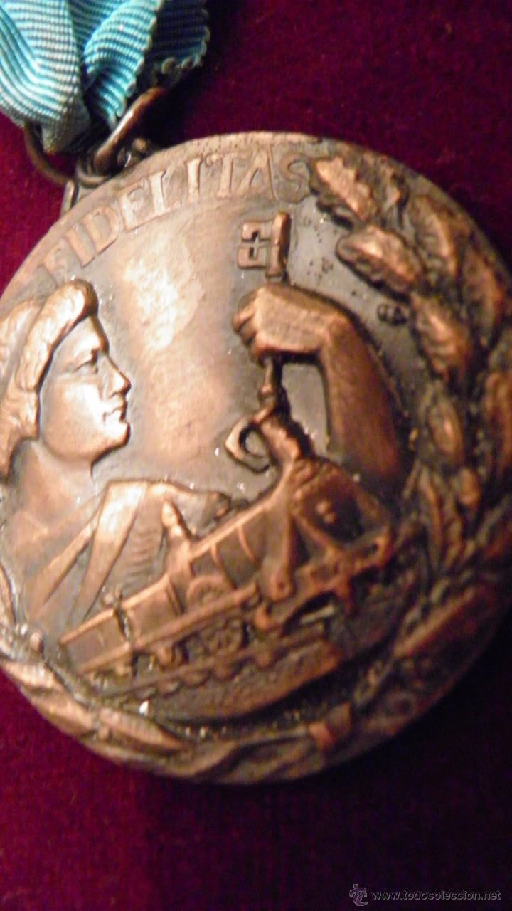 Medallas temáticas: RENFE.FIDELITAS.PREMIO A LA FIDELIDAD,RED FERROCARRILES ESPAÑOLES - Foto 7 - 51348773