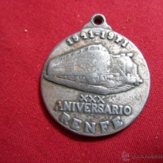 Medallas temáticas: MEDALLA XXX ANIVERSARIO DE RENFE 1941 1971,. Lote 51368076