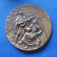 Medallas temáticas: MEDALLA CONMEMORATIVA - SERENATA DE COIMBRA - TRADICIONES ACADEMICAS DE COIMBRA - 9 CM DIAMETRO. Lote 51385261