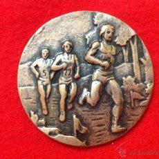Medallas temáticas: MEDALLA XII MARATÓN, MARATHON, 1989, SAN SEBASTIÁN. 6 CMS. DE DIÁMETRO , MUY BIEN CONSERVADA.. Lote 51543032