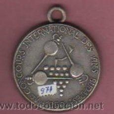Medallas temáticas: MEDALLA VI CONGRESO INTERNACIONAL DES VINS DE BUDAPETS 1969 50 ANV.FUD. CAVAS PARXET CAVA. Lote 51559820