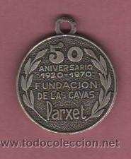 Medallas temáticas: medalla VI CONGRESO INTERNACIONAL DES VINS DE BUDAPETS 1969 50 ANV.FUD. CAVAS PARXET CAVA - Foto 2 - 51559820