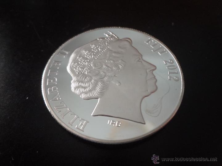Medallas temáticas: MONEDA DE PLATA CONMEMORATIVA 2012 - HUNDIMIENTO DEL TITANIC - CANADA (1) - Foto 2 - 172249320