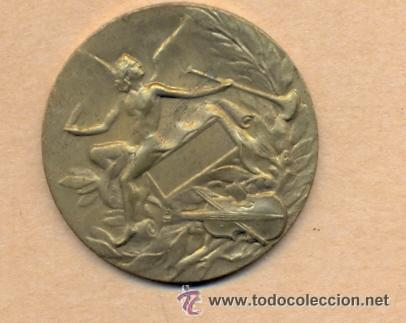CAJA 153 - MEDALLA DE LAS ARTES 3.5 CMS DIÁMETRO - 12 GRAMOS - REVERSO LISO - BRONCE CAJA 153 - M (Numismática - Medallería - Temática)