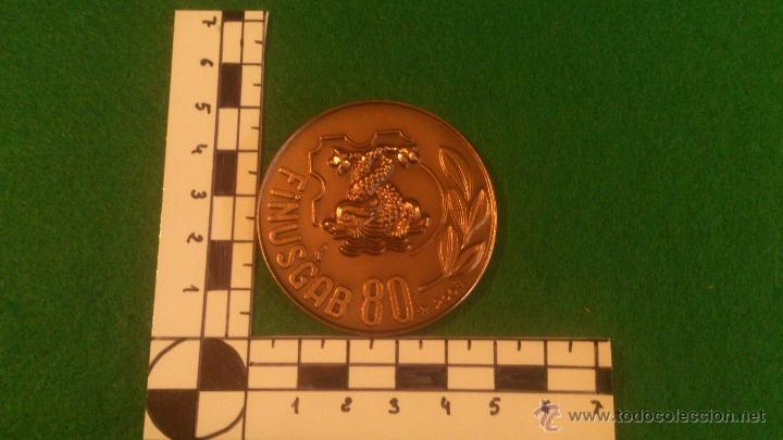 Medallas temáticas: MEDALLA FINUSGAB - FUENTES BARCELONA - COBRE 50mm. 80 , (2007) - Foto 2 - 51680869