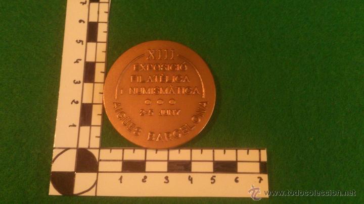 Medallas temáticas: MEDALLA FINUSGAB - FUENTES BARCELONA - COBRE 50mm. 80 , (2007) - Foto 3 - 51680869