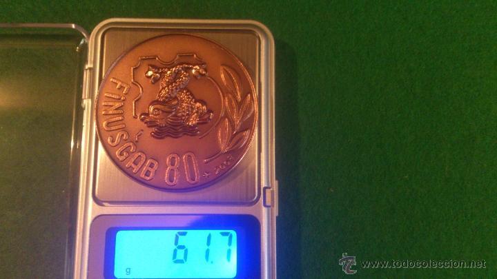 Medallas temáticas: MEDALLA FINUSGAB - FUENTES BARCELONA - COBRE 50mm. 80 , (2007) - Foto 4 - 51680869
