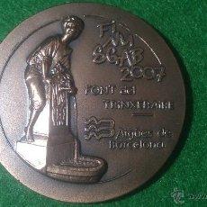 Medallas temáticas: MEDALLA FINUSGAB - FUENTES BARCELONA - COBRE 50MM. 2007.. Lote 51703692