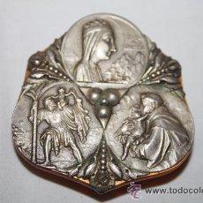 Medallas temáticas: MR055 PRECIOSA MEDALLA MODERNISTA ' VIRGEN DE MONTSERRAT' FINALES S.XIX. Lote 27951910