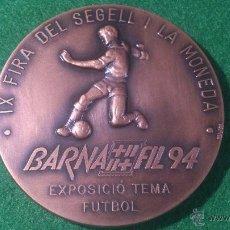 Medallas temáticas: MEDALLA BARNA FIL 94, IX FIRA DEL SEGELL I LA MONEDA , DE PUJOL. Lote 52162598