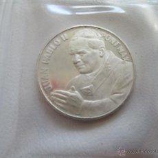 Medallas temáticas: MEDALLA * JUAN PABLO II - PRIMER VIAJE * PLATA. Lote 131966337