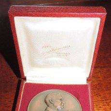 Medallas temáticas: MEDALLA DE BRONCE TROFEO KODAK GEORGE EASTMAN- 1834.1932, MIDE 6 CMS. DE DIAMETRO, CON CAJA ORIGIN. Lote 52289377