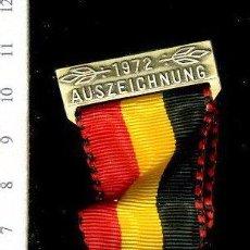 Medallas temáticas: PRECIOSA MEDALLA CONMEMORATIVA SUIZA, CIVIL O MILITAR. CON PRENDEDOR. Lote 52328513