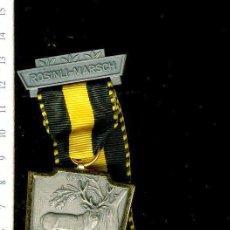 Medallas temáticas: PRECIOSA MEDALLA CONMEMORATIVA SUIZA, CIVIL O MILITAR. CON PRENDEDOR. Lote 52328660