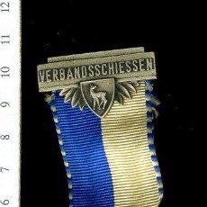 Medallas temáticas: PRECIOSA MEDALLA CONMEMORATIVA SUIZA, CIVIL O MILITAR. CON PRENDEDOR. Lote 52328671