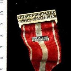 Medallas temáticas: PRECIOSA MEDALLA CONMEMORATIVA SUIZA, CIVIL O MILITAR. CON PRENDEDOR. Lote 52328685