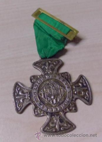 MEDALLA - LABOREMUS - LEGIÓN DE HONOR - FLOR DE LIS - CON SU CINTA ORIGINAL (Numismática - Medallería - Temática)