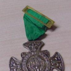 Medallas temáticas: MEDALLA - LABOREMUS - LEGIÓN DE HONOR - FLOR DE LIS - CON SU CINTA ORIGINAL. Lote 52348763